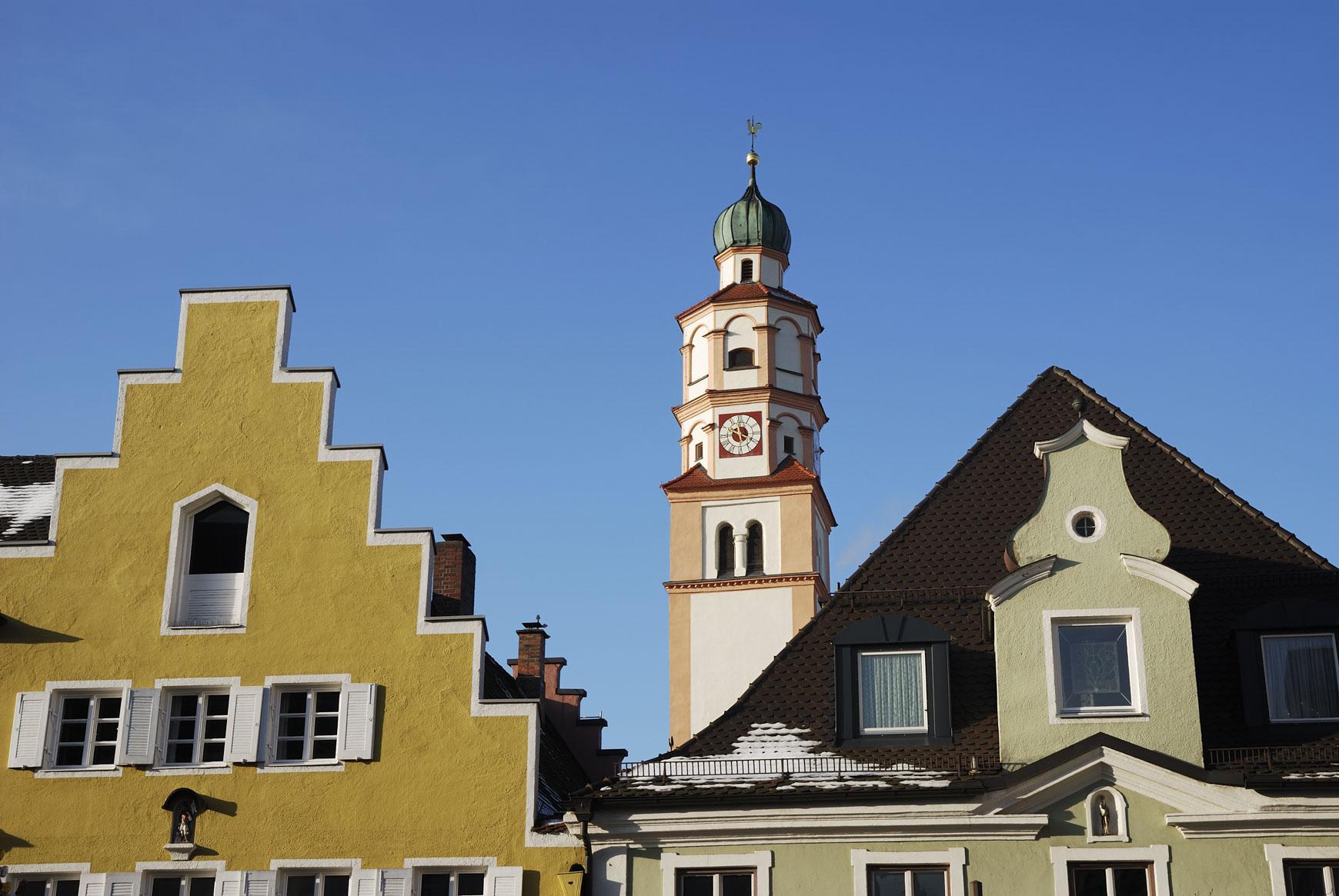 Schrobenhausen die Spargelstadt in Oberbayern
