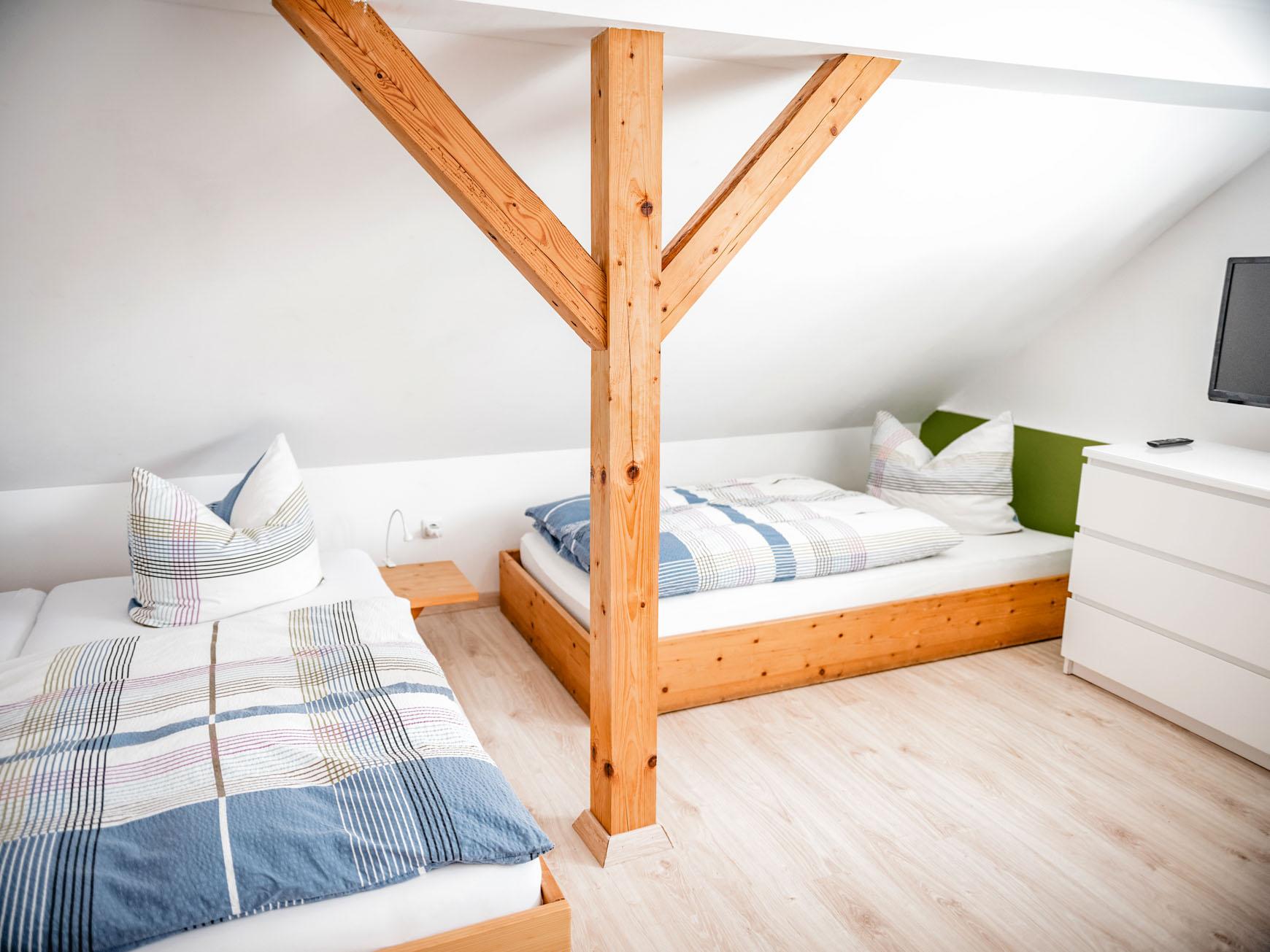 Ferienwohnung - Mehrbettzimmer