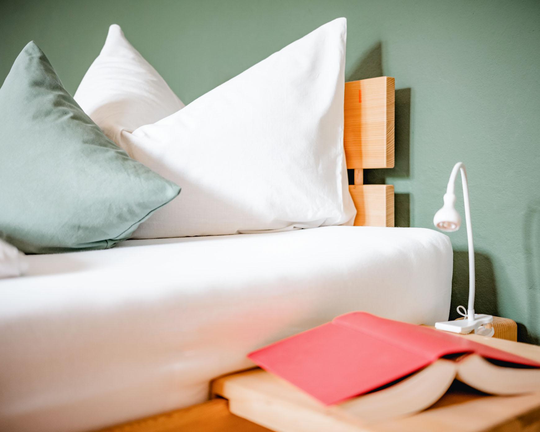 Detailsansicht Bett