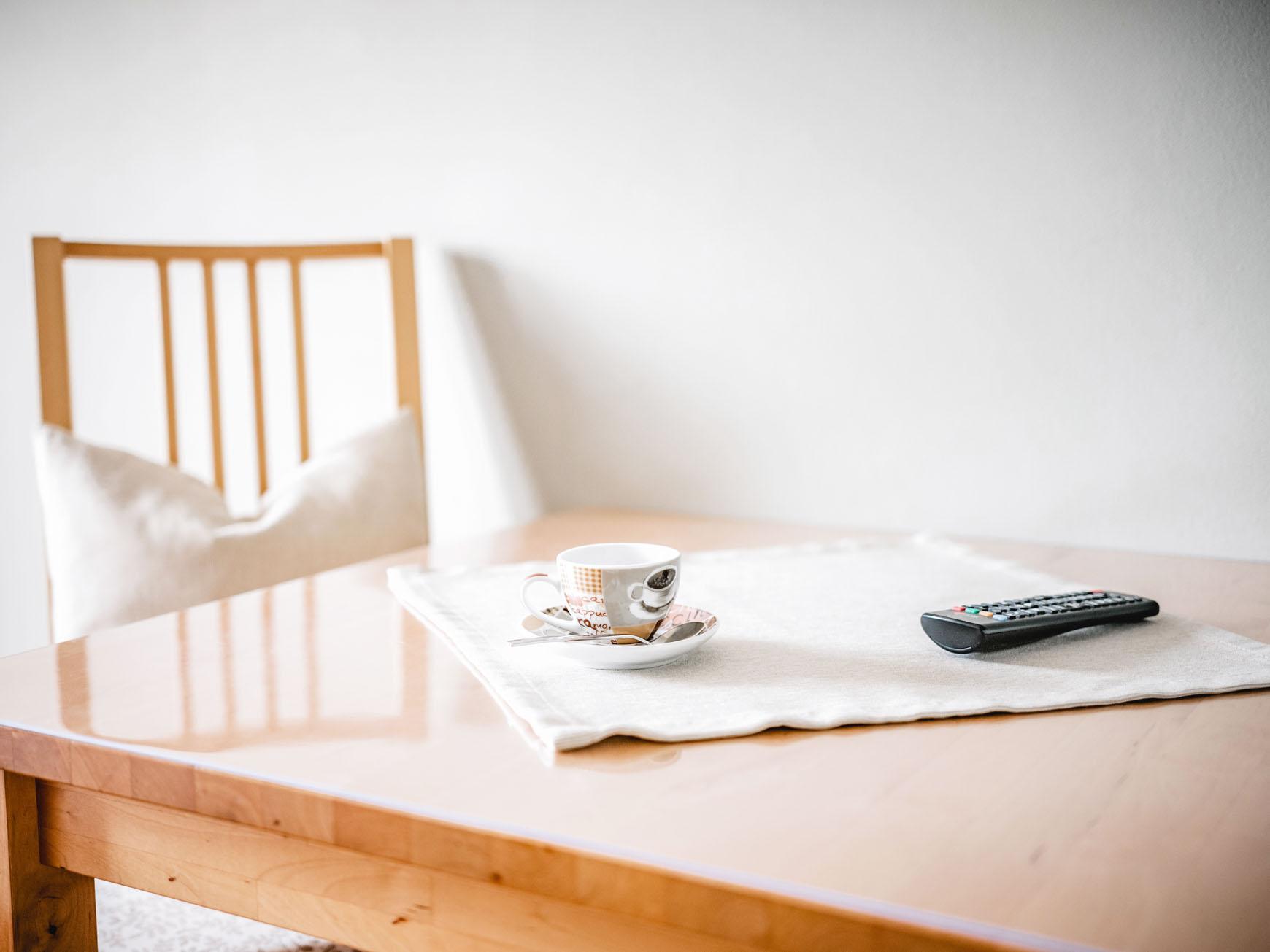 Mehrbettzimmer - Tisch