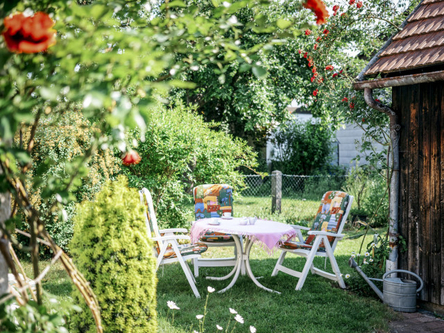 Unser Haus und Garten - Pension Streber-Kraus